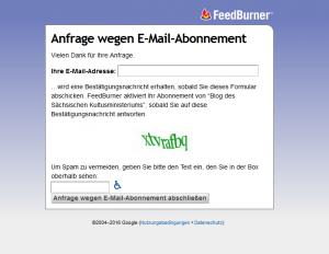 Screenshot E-Mail Abo
