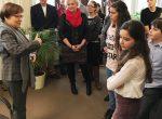 Gegenbesuch: Schüler aus Leipzig zu Besuch im Kultusministerium