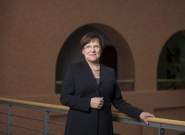 Die Staatsministerin für Kultus des Freistaates Sachsen, Brunhild Kurth (CDU) Foto: Robert Michael